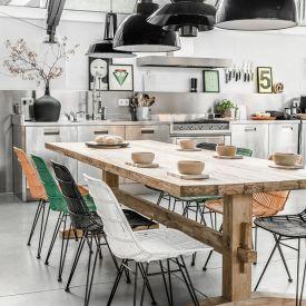 Décor do dia: cozinha em estilo industrial com um toque rústico